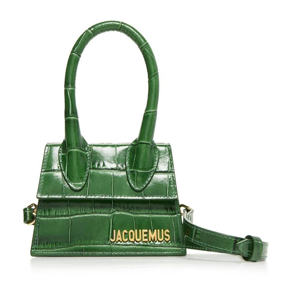 Jacquemus Bag Luxuy Brand PU Leather Shoulder Bag Hand Bags for Women 2020 Designer Mini Small Flap