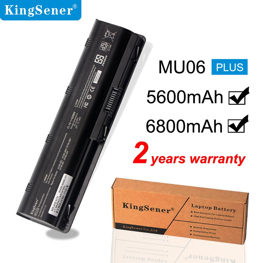KingSener MU06 Battery for HP Pavilio G4 G6 G7 G42 CQ32 CQ42 CQ62 CQ72 DM4 HSTNN-CBOX HSTNN-Q60C HSTNN-CB0W MU06 MU09 DV6 DM4 znovay mu06 laptop battery for hp pavilion g4 g6 g7 cq42 cq32 g42 cq43 cq62 g32 dv6 dm4 g72 593562 001battery mu09 10 8v 47wh