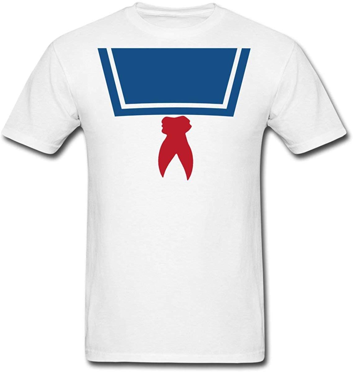 FGHFG Stay Puft Marshmallow hombre traje de hombre Camiseta Unisex hombres mujeres camiseta