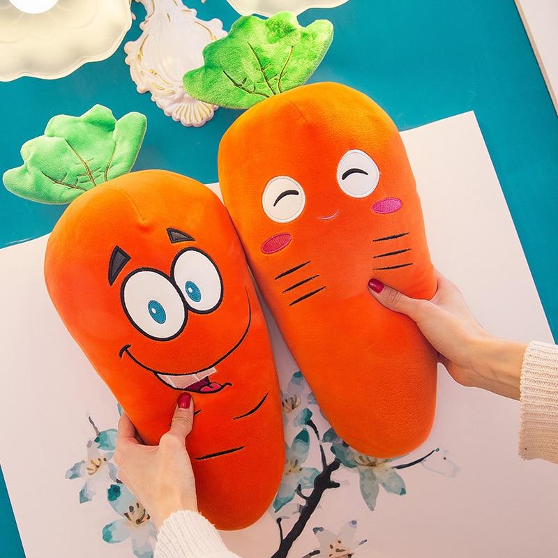1 шт. 25 см креативная имитация плюшевая морковка игрушки супер мягкая кукла