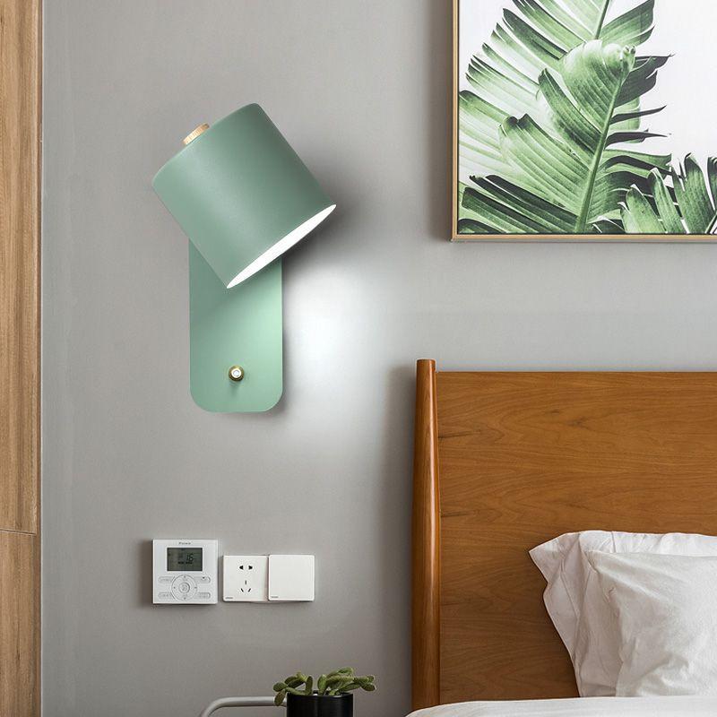 Luces led para dormitorio decoración de pared, espejo nórdico para exteriores, WJ10