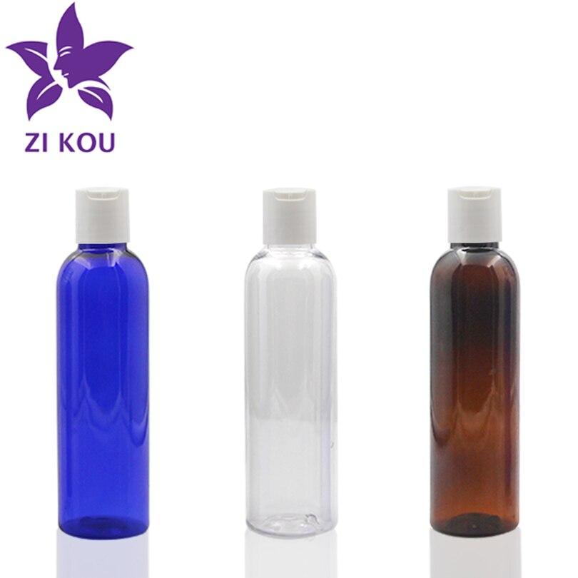 1 pçs 150ml de plástico disco tampa garrafa viagem frete grátis vazio recarregável portátil óleo essencial líquido recipiente espremer garrafas