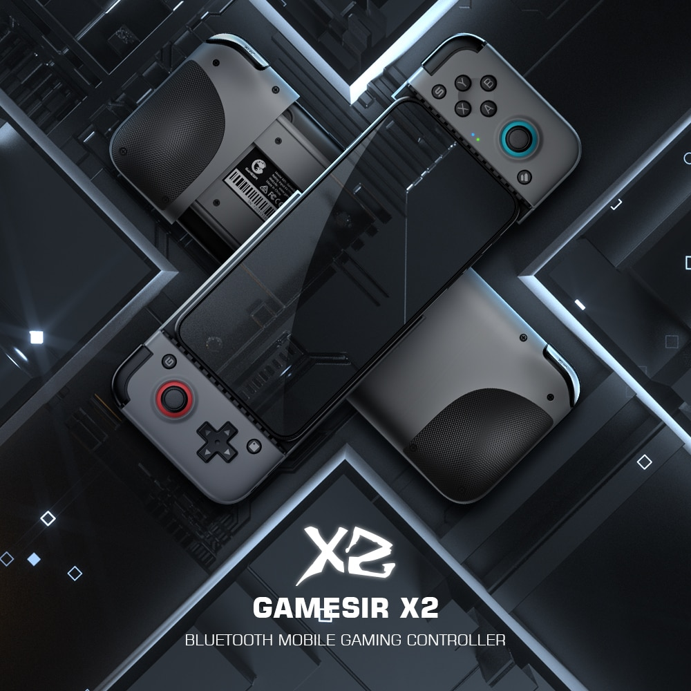 GameSir X2 Bluetooth Mobile Gamepad, Wireless Game Controller for Android and iOS iPhone Cloud Gaming Xbox Game Pass