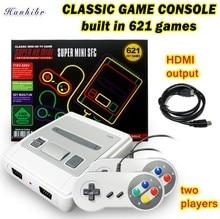 621 Games Jeugd Retro Game Mini Classic 4K Tv Av/Hdmi 8Bit Video Game Console Handheld Gaming Speler met 2 Gamepad Dropship