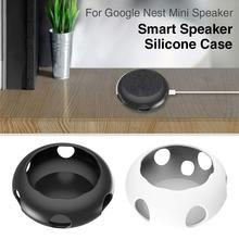 Силиконовый защитный чехол для Google Nest Mini speaker, защитный чехол, чехол для Google Nest Mini, Аксессуары для колонок
