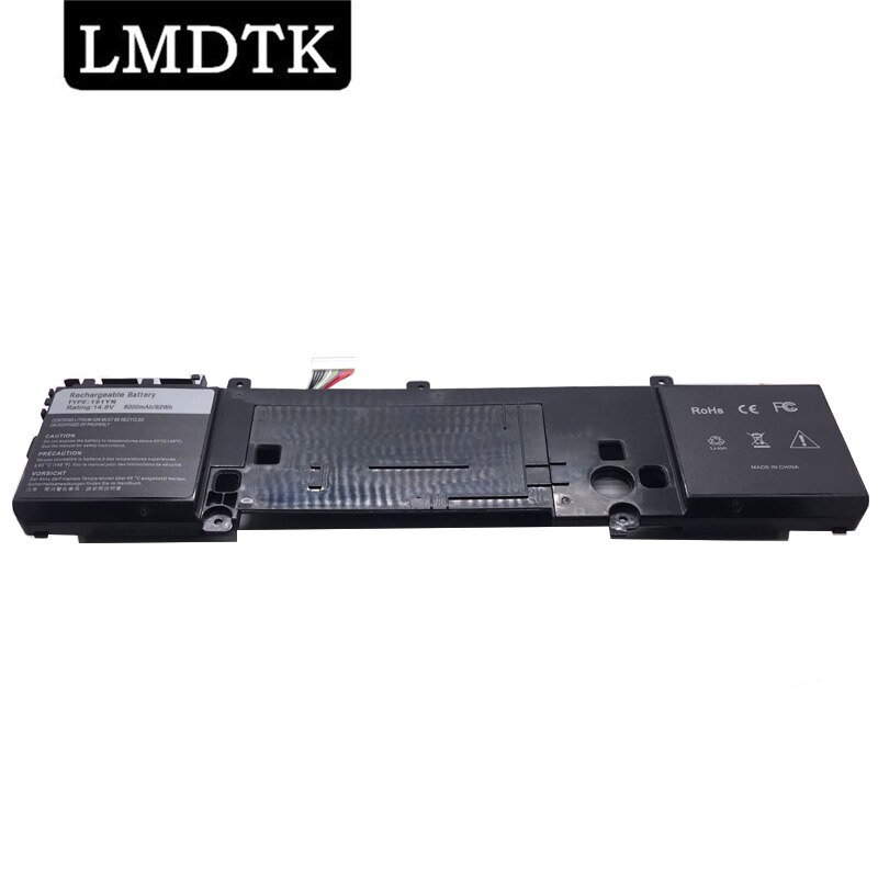 LMDTK جديد 191YN بطارية كمبيوتر محمول لديل إليانوير 15 R1 R2 ALW15CD-1718 ALW15ER-3718 2F3W1 14.8V 92WH