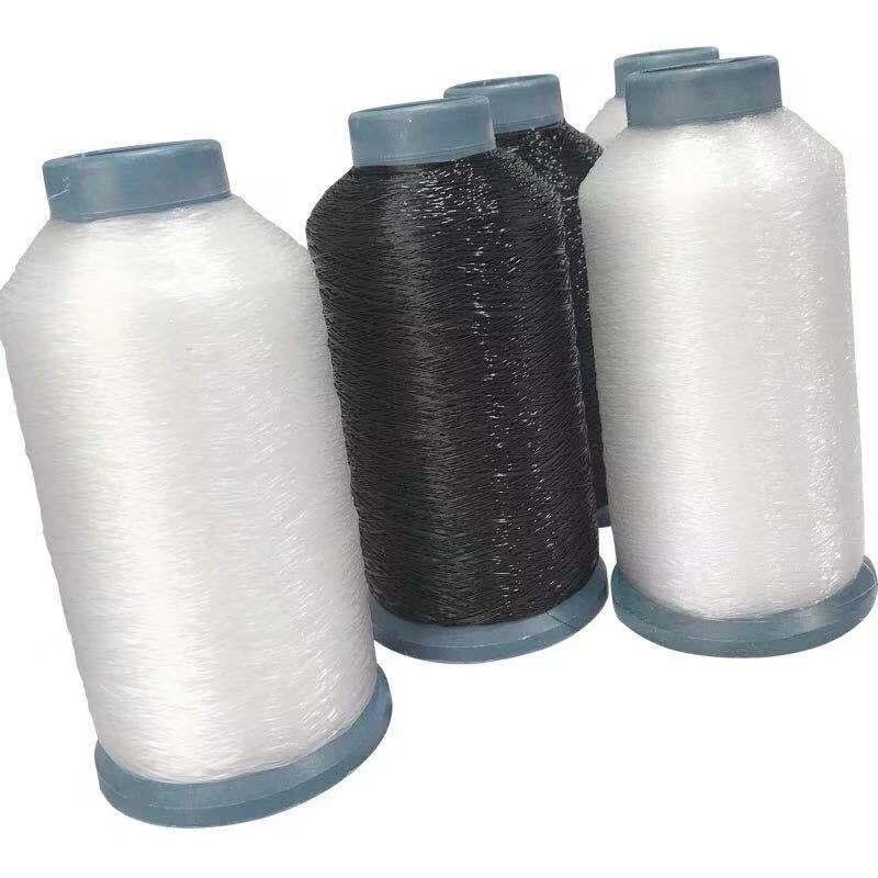 Rollo grande de hilo de Pez transparente Circular, hilo de coser, manualidades con cuentas hechas a mano, resistente al desgaste, hilo de red, adornos de pesca