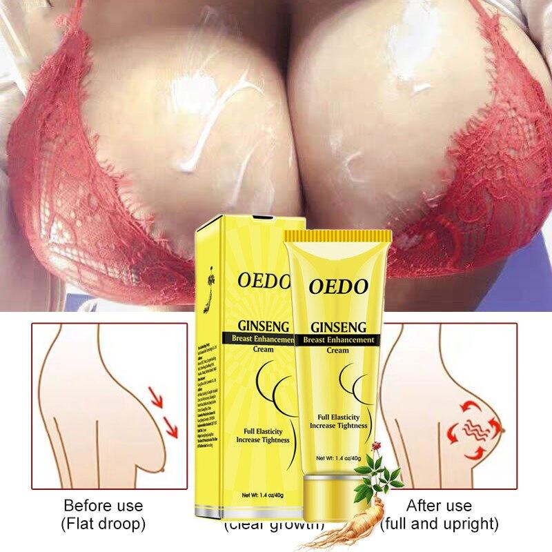 OEDO Ginseng Breast Cream Bust Fast Growth boobs Firming Breast Enhancement Cream Firming Elastic en