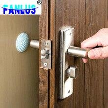 1 unids/bolsa, pomo de goma, rieles de colisión, alfombrilla para puerta silenciosa, almohadilla trasera, manija de puerta, amortiguador de pared anticolisión