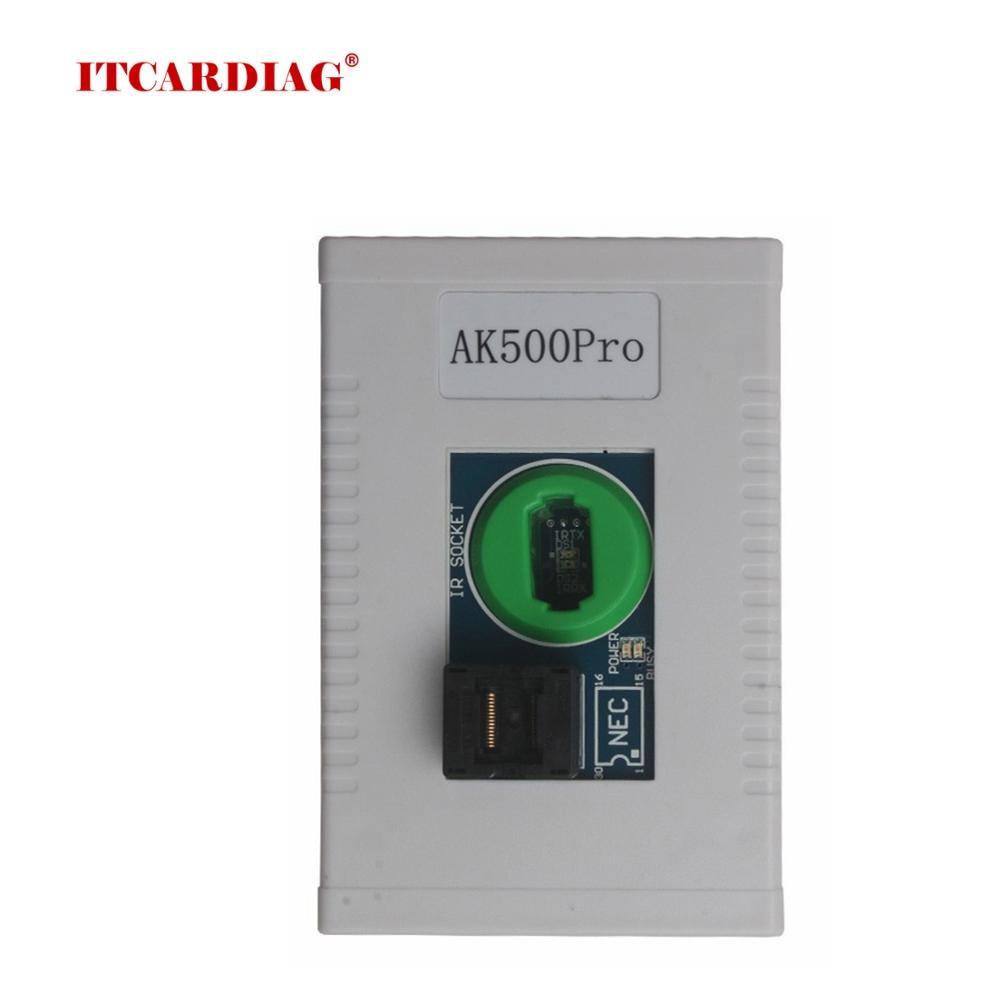 Programador de chave super para mercedes benz ak500pro ak500 pro, sem remoção de esl esm ecu ben-z, fábrica original calculadora