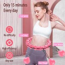 Loss Weight Fitness Sports Hoop Smart Upgrade Smart Hoop Adjustable Waist Fitness Circle Burning Fat