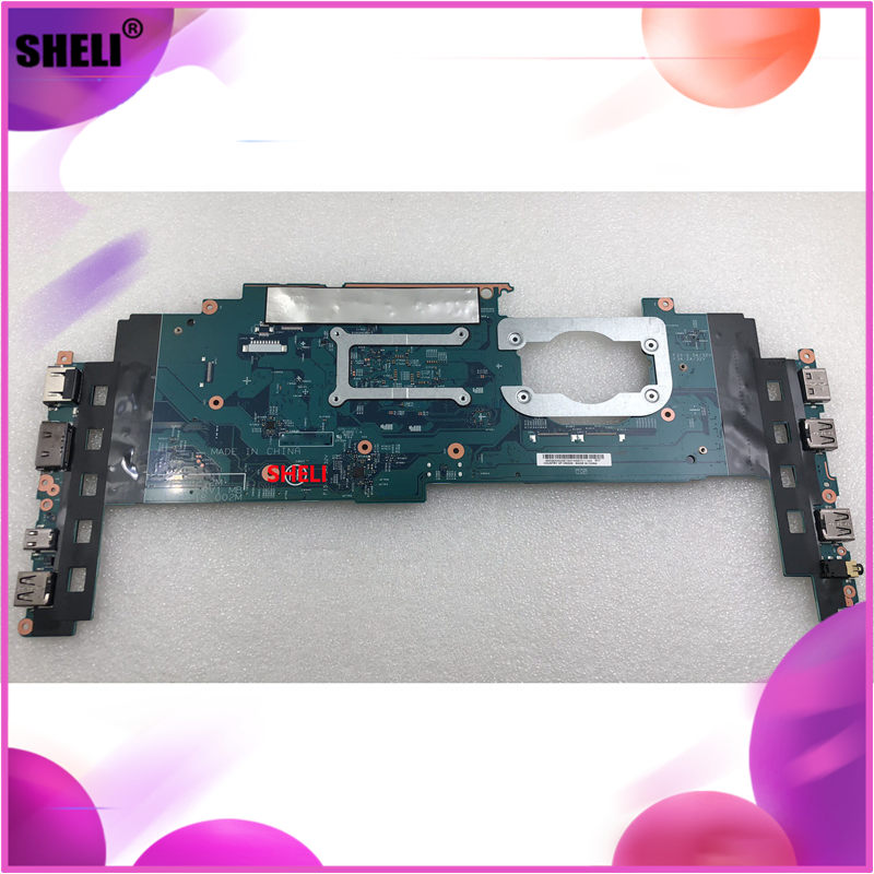 SHELI for Lenovo laptop motherboard 14282-2M LRV1 MB 448 04P18 002M fru : 00JT811 I7-6600 16G mainboard 100% tested good working