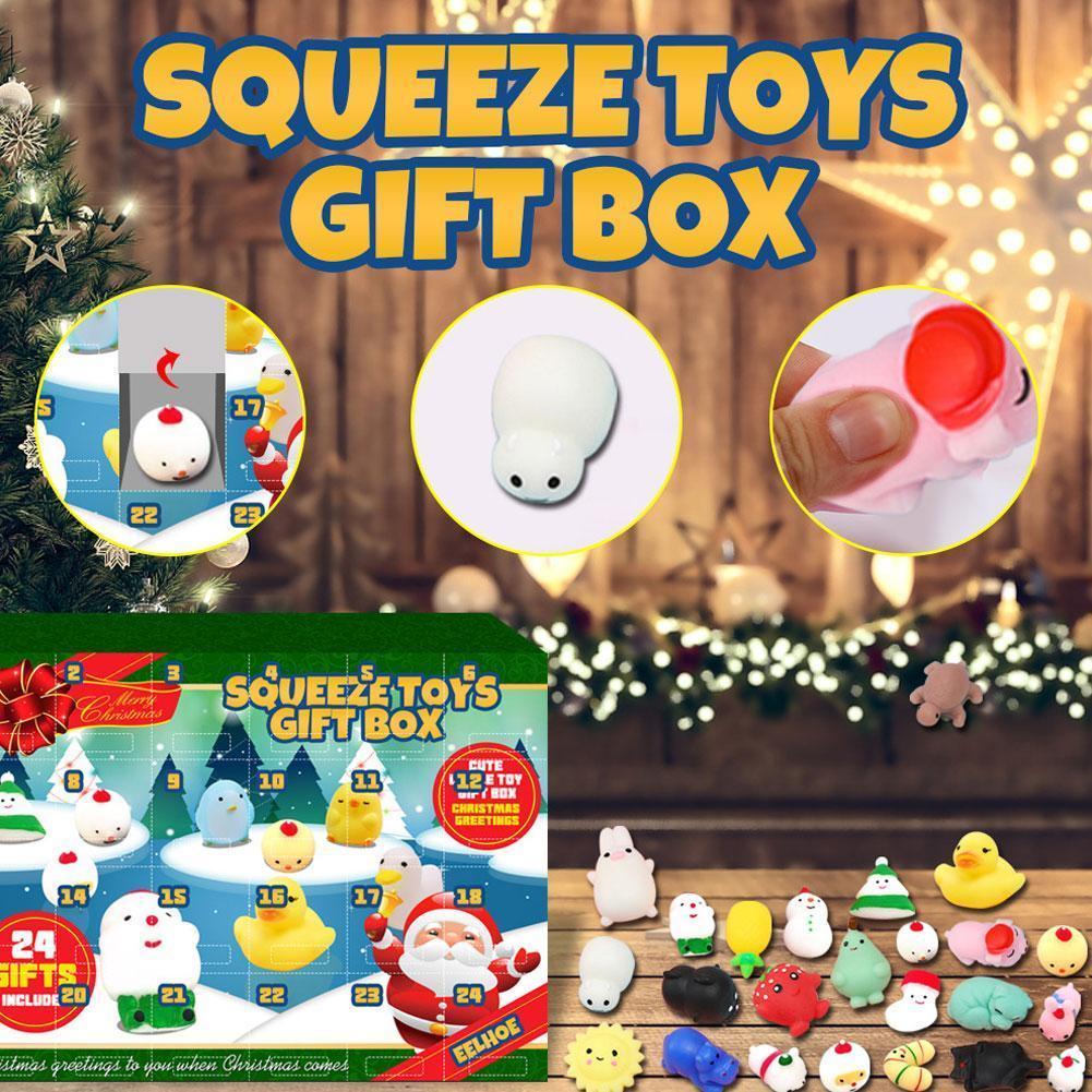 Фото - 2022 New Santa Christmas Countdown Advent Calendar 24 Days Surprise Blind Box Gift fennell clare santa s 12 days of christmas