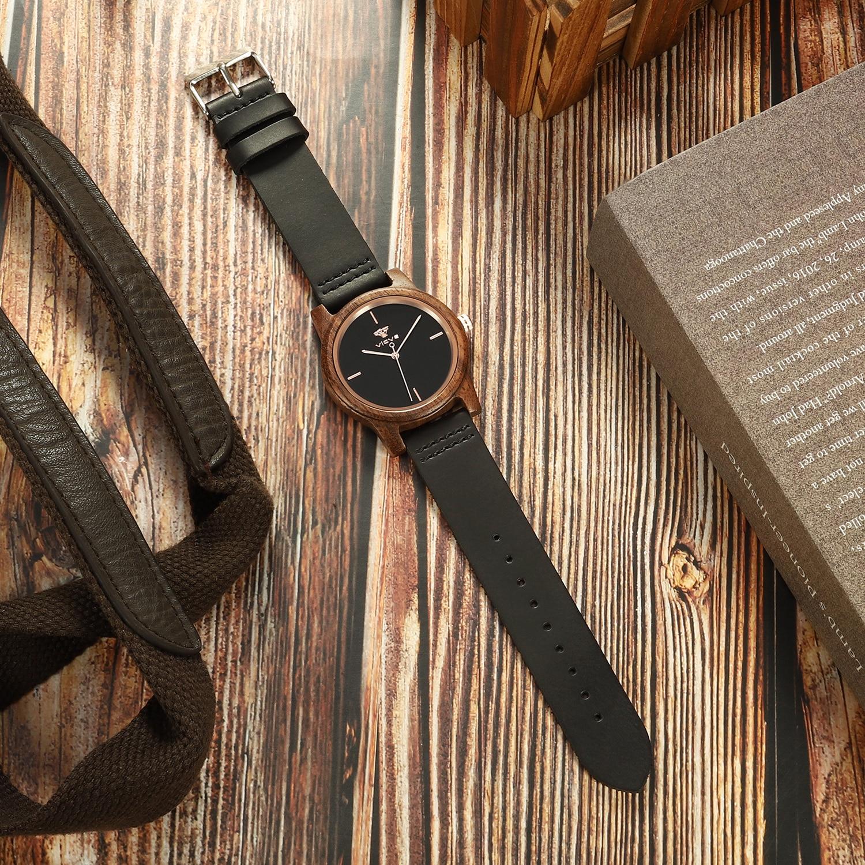 relogio leather Women walnut wood watch fashion luxury sports women quartz watch часы женск