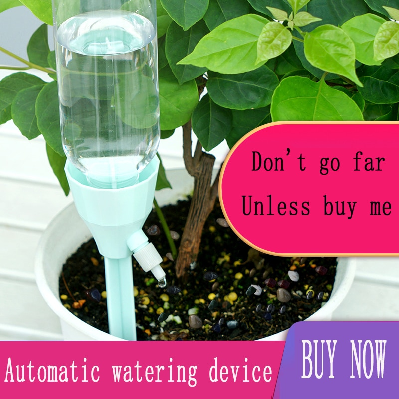 15pcs 2020 New Automatic Watering Device for Plants Potted Flower Garden Adjustable Water Drip Device Drip Irrigation System