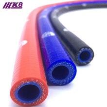 Tuyau de refroidissement droit en Silicone 1 mètre   Livraison gratuite, longueur du tuyau Intercooler 14mm 16mm 19mm 22mm 25mm 28mm