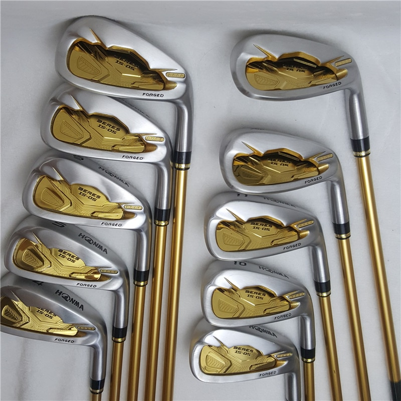 Men's Golf Club Irons set Honma Bere IS-05 four-star golf club set (10 pieces) Golf Club graphite shaft free shipping