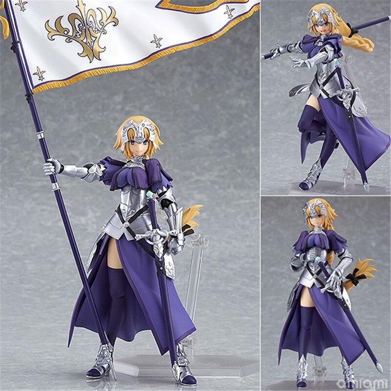 Fate grand order jeanne darc arc figura de ação régua fgo coleção modelo brinquedos 14cm