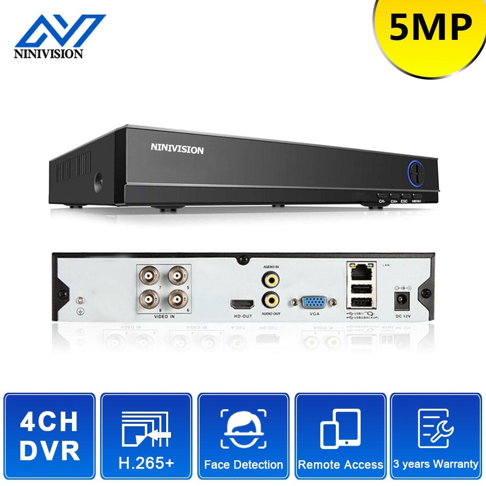 AHD 4CH 5MP DVR überwachung 4 Kanal CCTV Sicherheit Systeme DVR Onvif Full HD 5,0 MP Recorder 4CH Set 8/16CH Hybrid IP Kamera