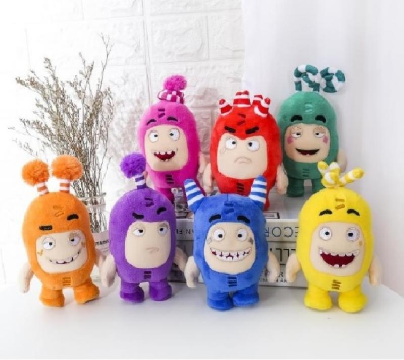 Christmas Gifts 18cm 2020 Oddbods Cartoon Fuse Jeff Newt Odd ZEE Bods Stuffed Animals Plush Toy Doll Plush Toy Soft Stuffed Toys