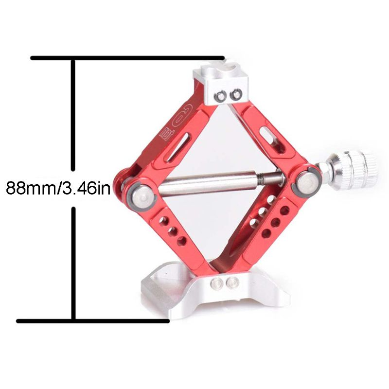 Simulation Chubby 6 Ton Jack Stands for 1:10 TRX4 RC Crawler Car Upgraded Parts enlarge