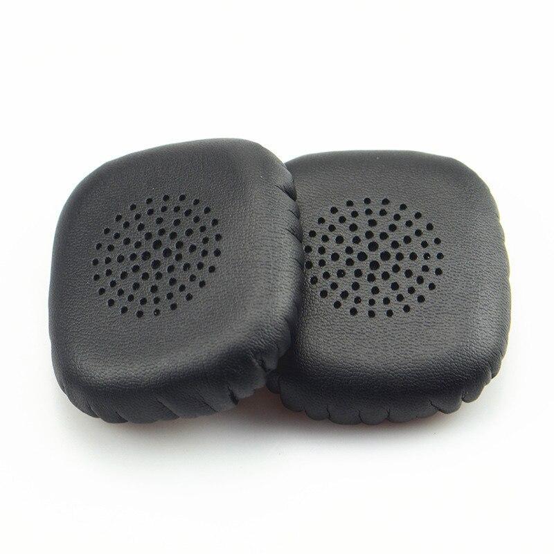 1 par de almofadas de orelha de substituição de manga para soul electronics sv3slv volt fone ouvido capa de almofada de ouvido earpads travesseiro preto ew #