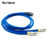 haldane pair nakamichi rca male to xlr female balacned audio interconnect cable xlr to rca cable with cardas clear light usa