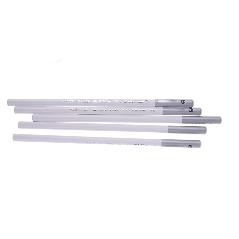 2pcs Drawing Sketch Pencil Soft Charcoal Pencils Pen White Pastel For Student Sketching Professional Art Supplies Artist Craft enlarge