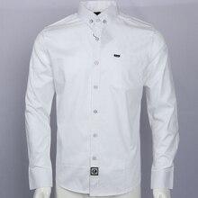 Chemise de broderie camisa masculina hommes à manches longues chemises habillées coton Social hombre eden park chemises faconnables