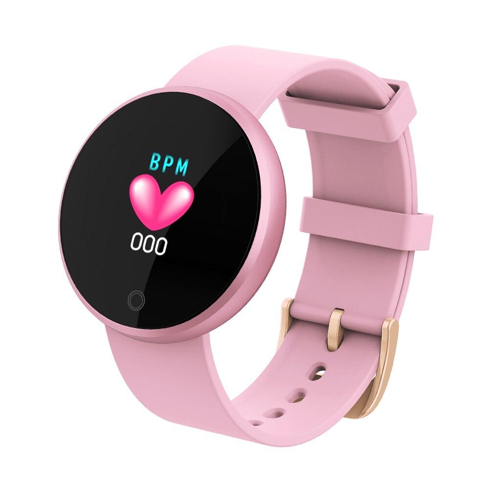 Smart Bluetooth dames montres mode montre intelligente femmes Calories montre de fréquence cardiaque beauté montre-bracelet numérique B36 pour ios Android