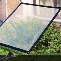 Plant Canopy Shade Cloth Rainproof Cover Sunblock Balcony Sun Shade Net for Succulents Flowers