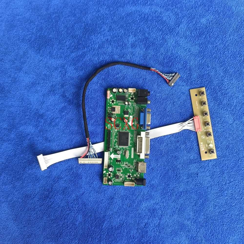 30 دبوس LVDS M.NT68676 محرك تحكم مجلس صالح CLAA089NA0CCW/CLAA089NA0FCW مجموعة أدوات الشاشة LED LCD 1024*600 DVI VGA HDMI متوافق