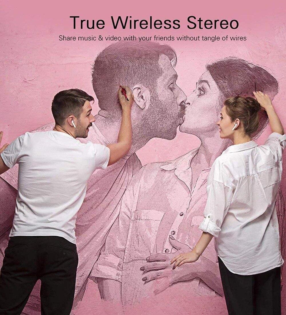 i7s tws Wireless Headphones Bluetooth 5.0 Earphones sport Earbuds Headset With Mic Charging box Headphones For all smartphones enlarge