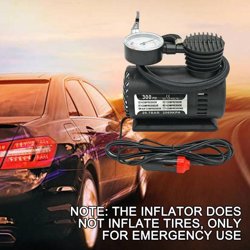 Электрический Inflatormini воздушный компрессор автомобильный электрический воздушный насос для шин насос подкачки оснащен Давление проверка м...