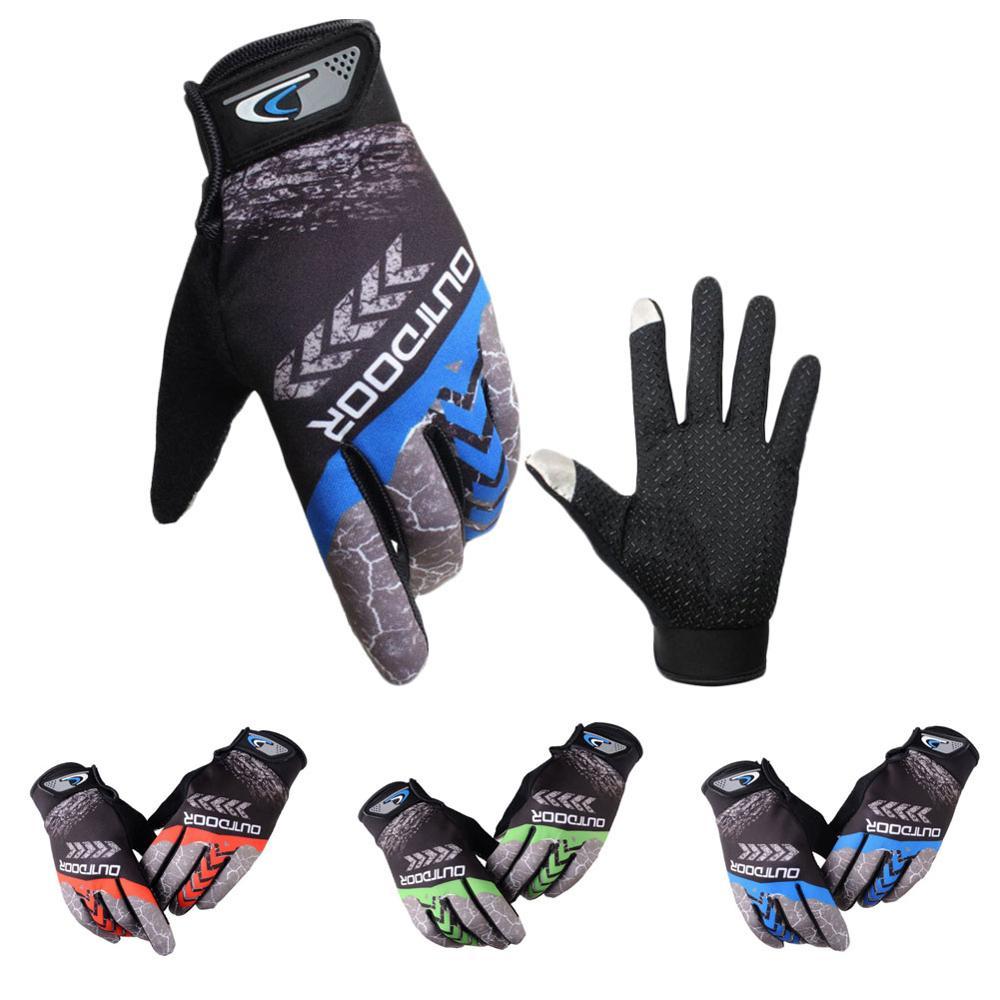 Guante de Ciclismo de dedo completo, guantes transpirables para ciclismo de montaña,...