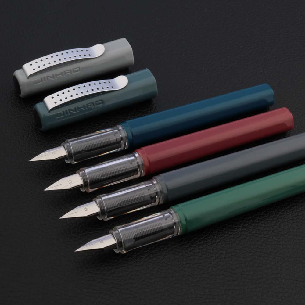 2020 luxo de alta qualidade jinhao fonte caneta morandi sistema cor correção postura caneta tinta estudante escritório escola suprimentos