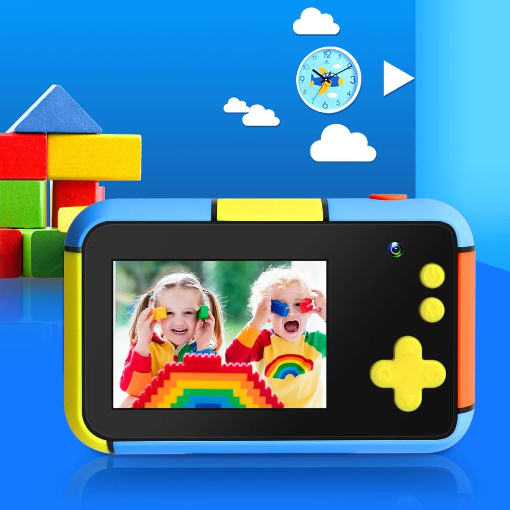 Kids Camera 2.4 Inch IPS Large Screen 2.8 Mega Pixel 1080P HD Kids Digital Dual Camera For Boys Girls Birthday Gift enlarge