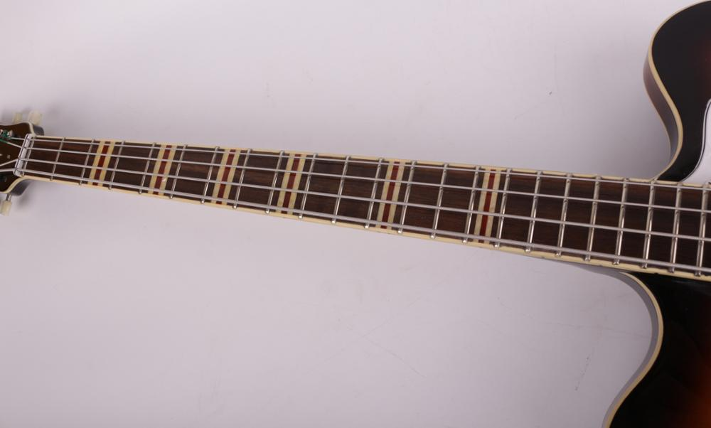 good quality electric 4 string f holl jazz bass guitar free shipping enlarge