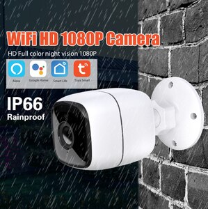 IP-Камера уличная Tuya Smart, Wi-Fi, hd, 1080p, H.264, 5 В, 1 А