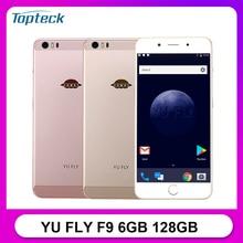 YU FLY F9 telefon komórkowy 6GB RAM 128GB ROM 6.0 Cal FHD + 4180mAh Snapdragon 653 Octa Core 16MP + 16MP 4G Smartphone