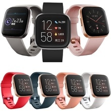 Smart Watch Accessories for Fitbit Versa 2 Band Replacement Wristband Watch Band for Fitbit Versa Li