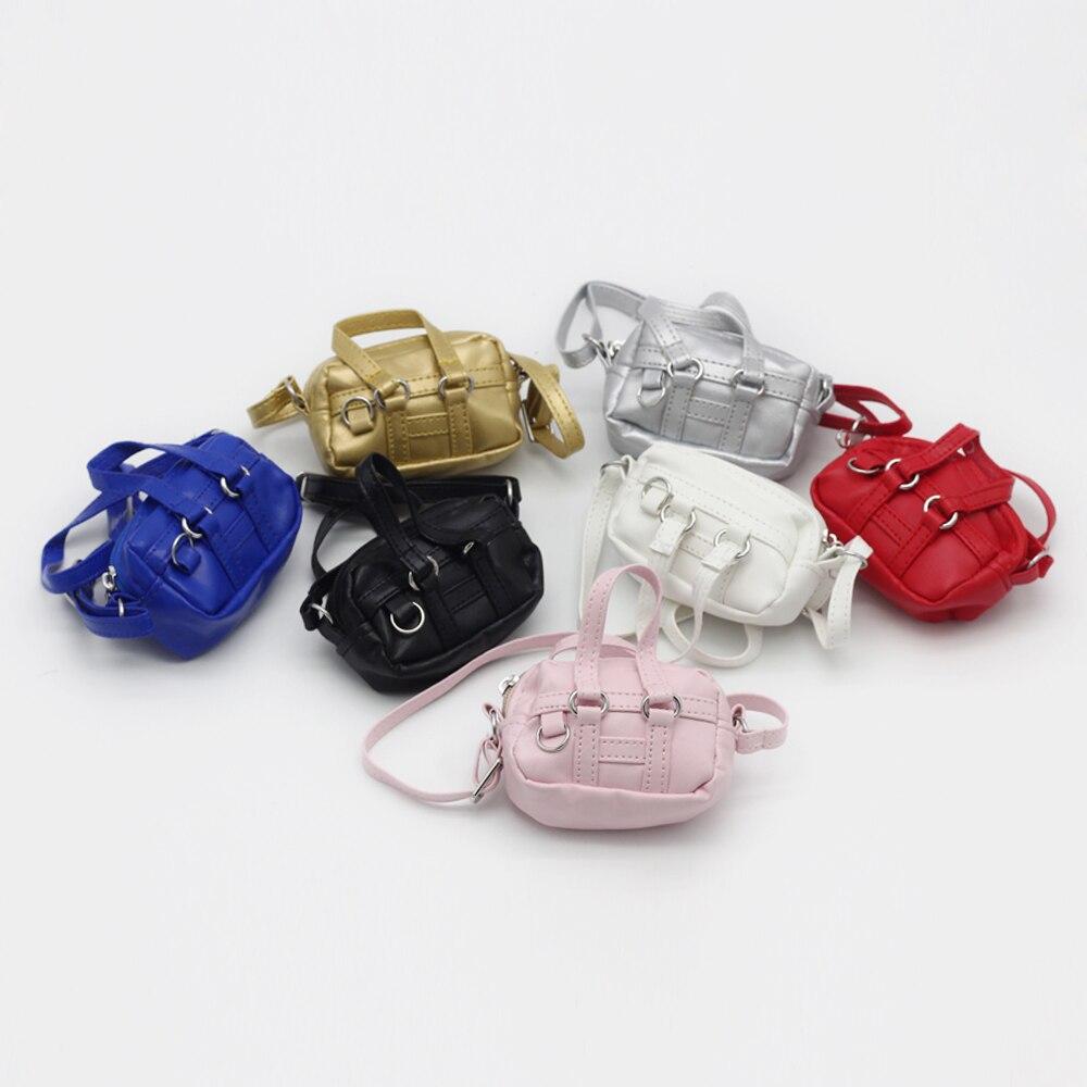 Bolso para muñeca hecho a mano para 1/6, 1/3 BJD, 18 pulgadas, 43cm, bolsos de hombro tipo bandolera para bebé, como se ajusta a muñeca EXO de peluche, mini bolso para niños