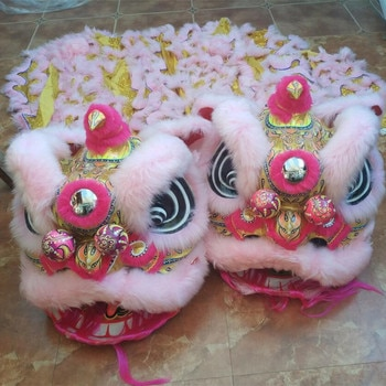 Tradition Lion Dance Chinese Lion Dance Costume For Adult New Year Performance Props Festival Dance