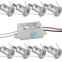 Ampoule Mini LED avec pilote adaptateur IP67  1W 12V IP65  Spot lumineux pour la salle de bain  le SPA et le Sauna
