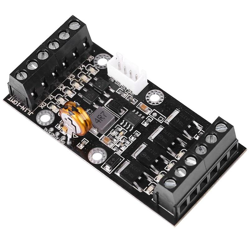 برمجة المنطق تحكم PLC التحكم الصناعي مجلس برمجة المنطق تحكم FX1N-10MT وحدة