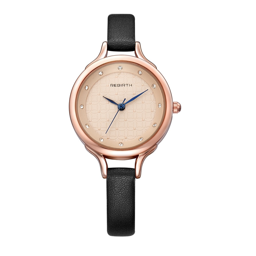 Anke Store 2020 New Fashion Women's Leather Strap Pattern Dial Diamond Scale Elegant Quartz  Women Watches Luxury Reloj Mujer enlarge
