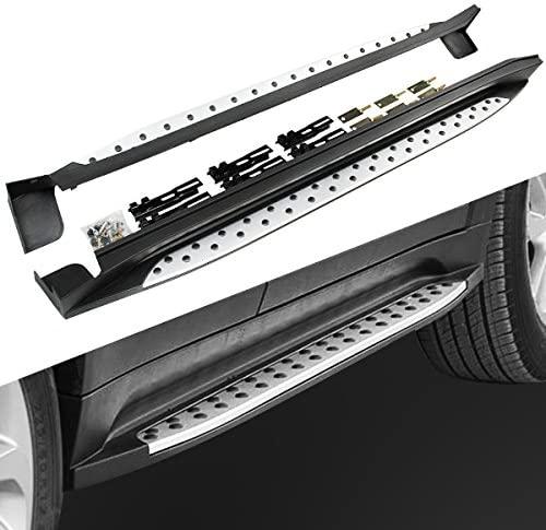 2 stück Passt für Hyundai- Tucson 2015-2021 Aluminium Tür Befestigt Tür Seite Schritt Trittbrett Nerf Bar guards Protector Bar