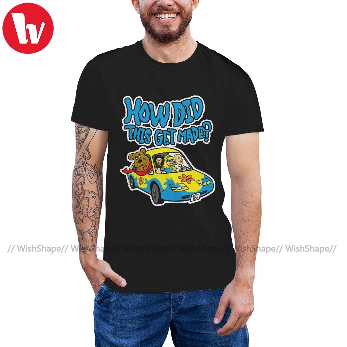Camiseta de Scooby, camiseta HDTGM gooby-doo y The Mystery Of psychophatic, camiseta impresionante para hombre