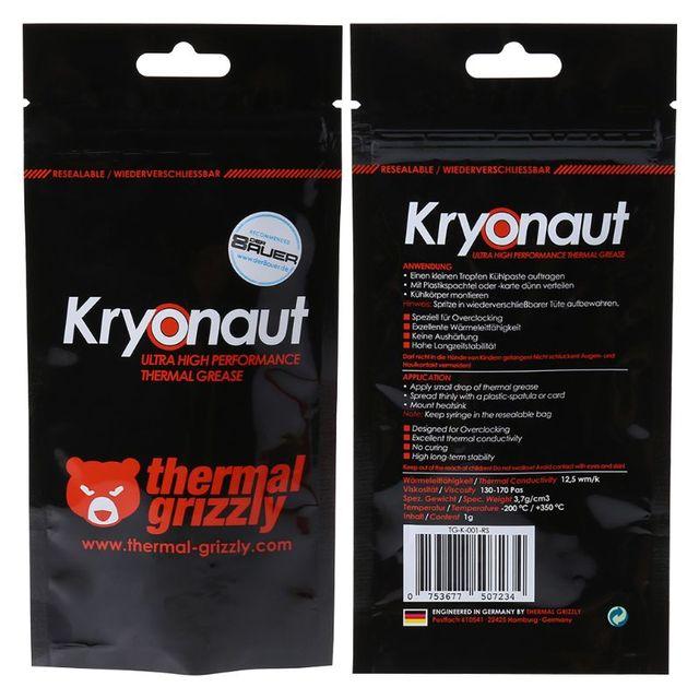 Thermische Grizzly Kryonaut 1g Vet Voor Cpu Amd Intel Processor Heatsink Ventilator Verbinding Cooling Koelpasta Koeler Koelpasta Fans Cooling Aliexpress