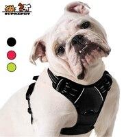 Светоотражающая шлейка для собак SUPREPET, нейлоновая Регулируемая шлейка для французских бульдогов для больших и средних собак, товары для до...